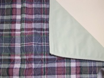 Plaid Quilted Bed Pads CP700