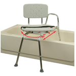 Sliding Swiveling Bathtub Transfer Bench and Chair EH37662