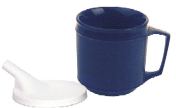 Weighted Insulated Cup with Spout Lid KE16043
