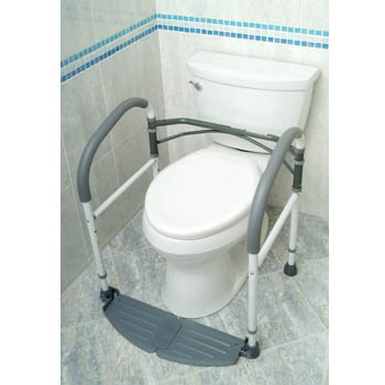 Fold Easy Portable Toilet Frame - ElderStore