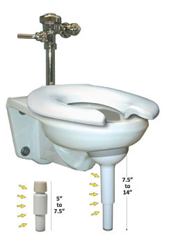big john wall mount toilet support - Wall Mount Toilet