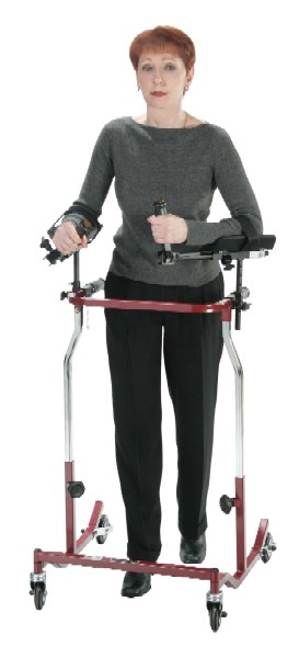 Bariatric Safety Walker with Optional Forearm Platforms