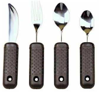 Touch Twist Angled Utensils