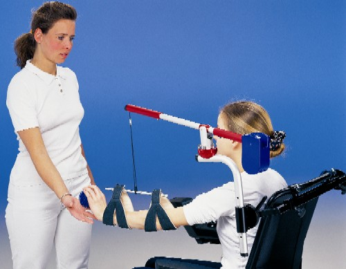 Mobility Arm on a manual wheelchair