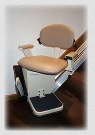 The Summit Stairlift has a swiveling seat to allow easy access getting in and stepping out.